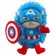 "Disney Marvel 14"" Pet Captain America Plush Hideaway Character Pillow"