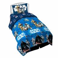 "Star Wars Ep7 Force Awakens 64"" x 86"" Twin Comforter"