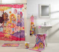 Sunny Day Hair Day Out Shower Curtain