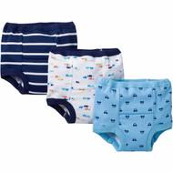 Gerber 3-Pack Toddler Boy Training Pants - Cars (3T)