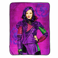"Disney Descendants Under Mal's Spell 46"" x 60""  Plush Throw"