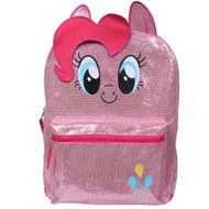 "My Little Pony Pinkie Glittery Pink 16"" Backpack"