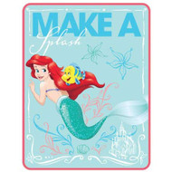 "Disney Little Mermaid ""Ariel Splash"" 46"" x 60"" Throw"