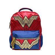 "Wonder Woman Gold Glitter 16"" Backpack"