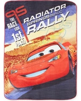 Pixar Cars Rally Racing Fleece Blanket