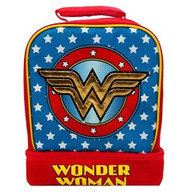 WONDER WOMAN Light-Up Dual Lunch Tote Bag