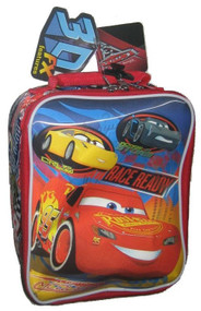 Disney Cars 3D Soft Insulated Lunch Bag