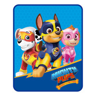 """Paw Patrol """"Mighty Pups"""" Silk Touch Throw"""