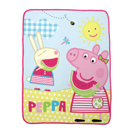 Peppa Pig 'Sunshine' Silk Touch Throw