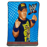 WWE John Cena Night-Time Throwdown Plush Throw