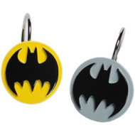 Batman Logo Shower Curtain Hooks