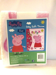 Peppa Pig 'It's a Sunshine Day' Silky Soft Throw