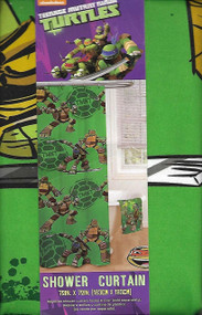 "Nickelodeon Teenage Mutant Ninja Turtles Fabric Shower Curtain - 72"" x 72"""