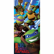 "Nickelodeon Teenage Mutant Ninja Turtle Power' 100% Cotton 28"" x 58""  Beach Towel"
