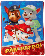 PAW Patrol 'All Paws on Deck' Plush Blanket