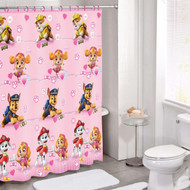 Paw Patrol Caring Mission PEVA Shower Curtain