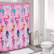 DreamWorks Trolls Peace The Move PEVA Shower Curtain