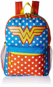 Wonder Woman Backpack 5pc Set