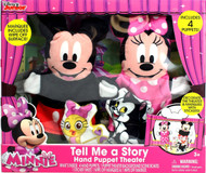 Mickey & Minnie 'Tell Me a Story' Hand Puppet Theater