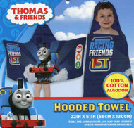 Thomas and Friends Kids Hooded Bath Towel