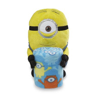 Despicable Me Minion Hugger & Throw Set