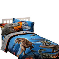Jurassic World Dinosaur Attraction Twin/Full Comforter