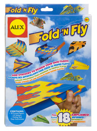 Alex Toys Fold N Fly Paper Airplanes Kit