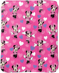 Minnie Mouse Super Soft Travel Blanket
