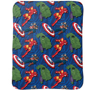 Marvel Avengers Super Soft Travel Blanket