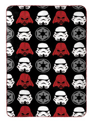 Star Wars Classic Vader Travel Blanket
