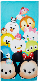 Disney Tsum Tsum 'Stacks on Stacks' Bath/Beach/Pool Towel