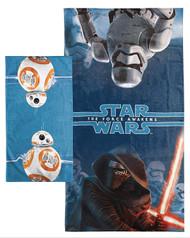 Star Wars Ep7 'Force Awakens' 2-Piece Bath Towel & Washcloth Set