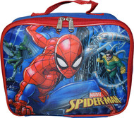 Marvel Spiderman, Octavius, & Vulture Insulated Lunch Bag