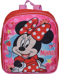 "Minnie Mouse Red 12"" Backpack"