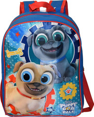 "Disney Junior Puppy Dog Pals 15"" Backpack"