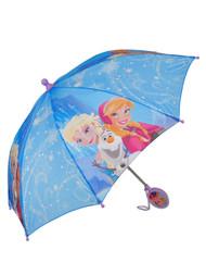 Disney Frozen Elsa & Anna 21 Blue Umbrella
