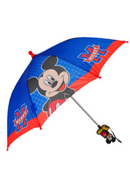 Disney Mickey Mouse Umbrella - Blue/Red
