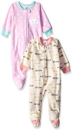 Just Born 2-Pack Arrow/Dots Blanket Sleeper - (18 months)