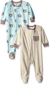 Just Born 2-Pack Blue Bear Blanket Sleeper (18 months)