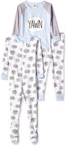 "Just Born ""Yawn"" 3-Piece Pajama Set (12 months)"