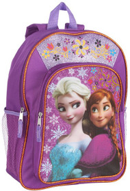 "Disney Frozen 15"" Backpack - 'Family Forever' Ana and Elsa"