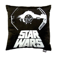Star Wars 'Tie Fighter' Black Decorative Pillow