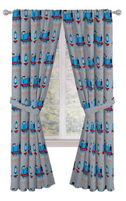 "Thomas The Tank Engine Tech 84"" Window Curtains"
