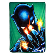 "Black Panther ""Power of Claws"" Super Plush Throw"