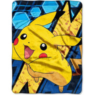 Pokémon Pikachu Super Plush Throw