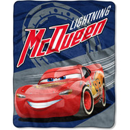 Disney Cars 3 Lightning Mcqueen Silky Soft Throw