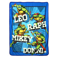 "TMNT ""Flash Fire Blue"" Super Plush Throw"