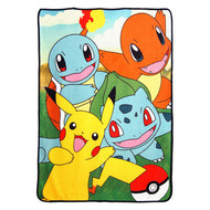 """Pokémon """"Game of Friends"""" Super Plush Throw"""