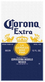 Corona Extra 'Beer Label' Beach Towel