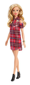 Barbie Fashionistas Patched Plaid Doll
